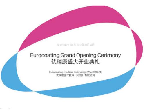 GRAND OPENING EUROCOATING WUXI